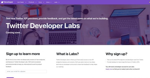 Twitter Developer Labs Will Lay the Foundation for the Next-Generation Twitter API