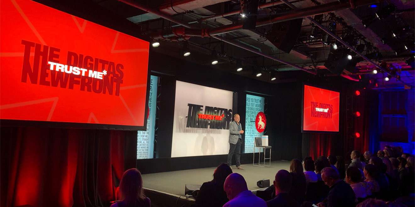Digitas Makes This Clear at NewFronts: Nothing Is More Important Than Trust Right Now