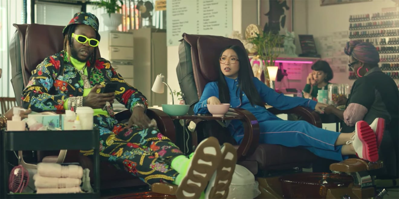 Awkwafina and 2 Chainz Dream Up a Smarter Smartphone in the