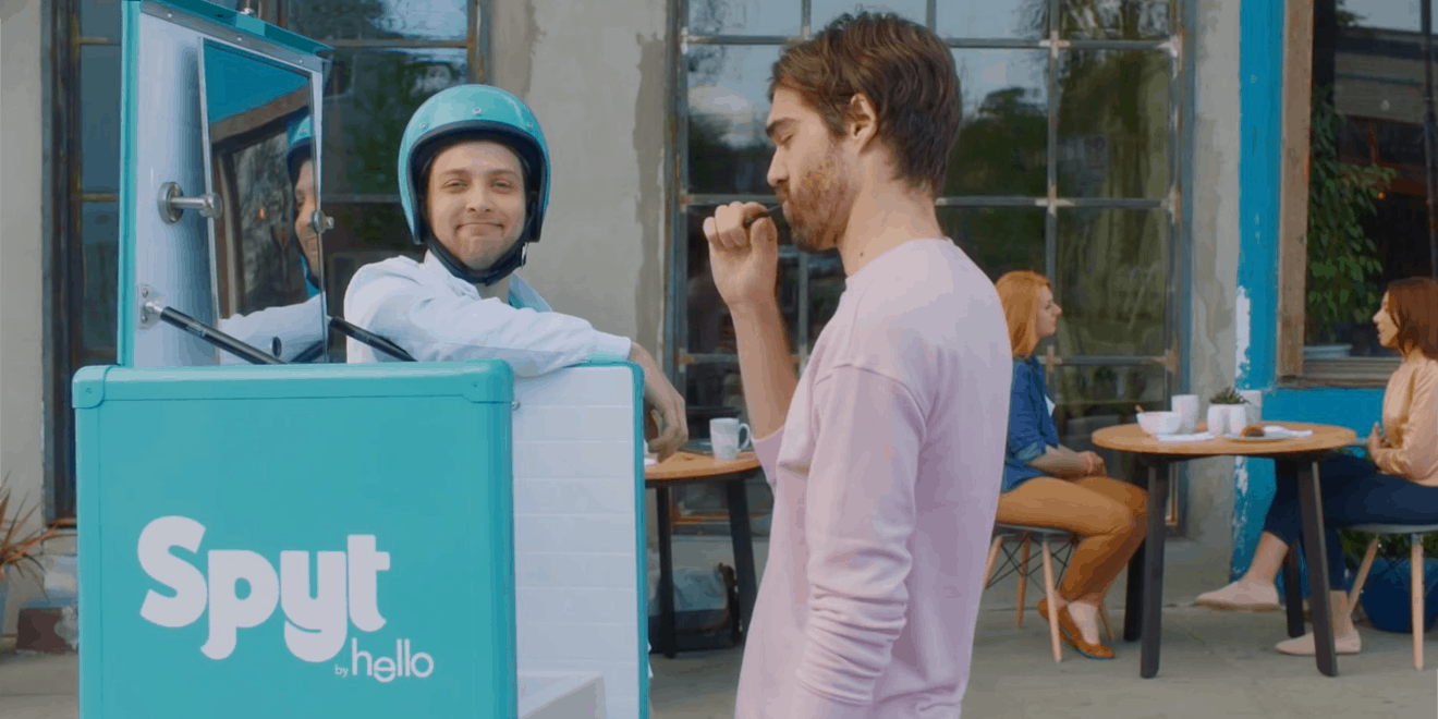This Toothpaste Startup's Cheeky Activation Will Have You Gleefully Spitting In Public