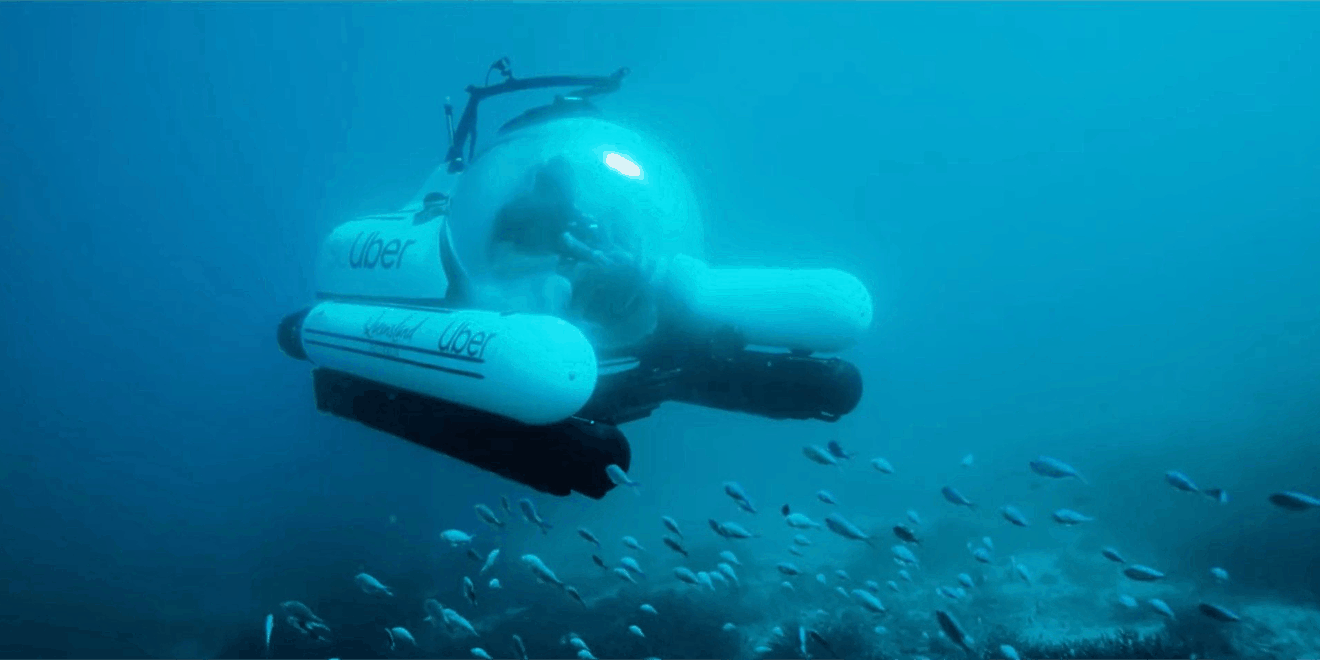 Uber Has Launched a Rideshare Submarine, and Yes, It's Called scUber