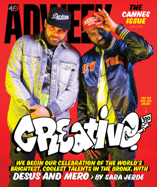 Desus and Mero on the Adweek Cannes Issue cover