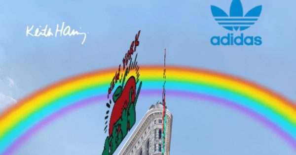Adidas Will Salute Keith Haring With a Snapchat Landmarker Lens During the NYC Pride Parade