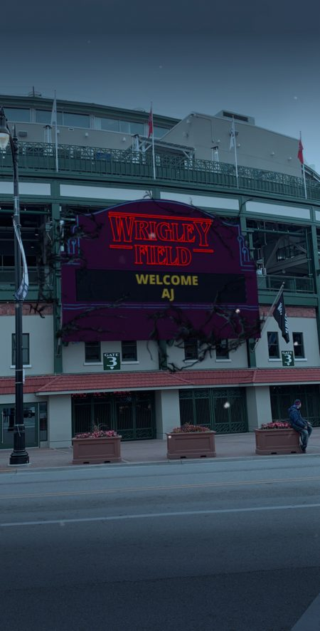 Les Cubs de Chicago et Snapchat se sont associés pour trouver des choses plus étranges chez AR – Newstrotteur CubsStrangerThingsStill 1 450x886