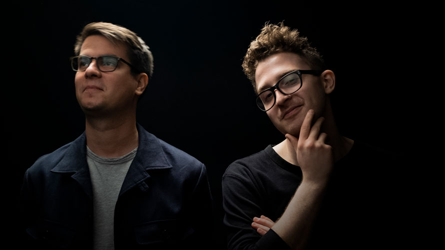 Headshot of Laszlo Szloboda and Alex Sprouse for Adweek's Creative 100