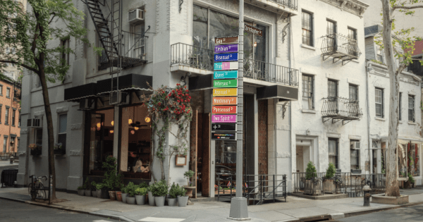 Mastercard Transforms New York's Iconic Gay Street Into an LGBTQIA+ Thoroughfare