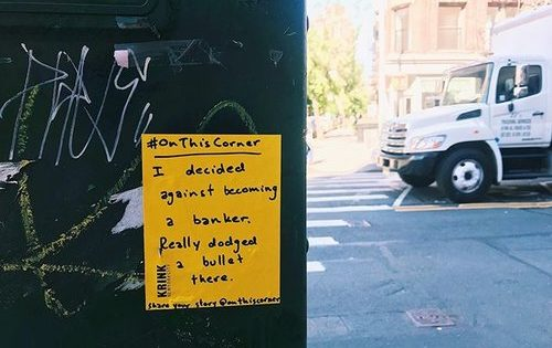 These McCann Creatives Want People to Share Memories They Associate With New York Street Corners