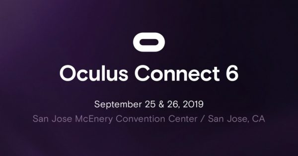 Oculus Connect 6 Is Set for Sept. 25 and 26