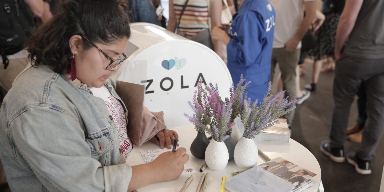 Real Weddings Zola: Zola Is Using Real Love Letters To Celebrate Pride In Its