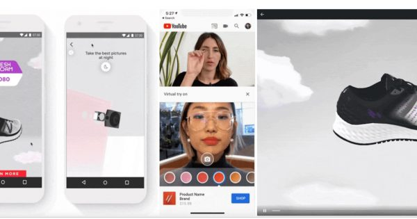Google Is Rolling Out Augmented Reality Try-On Tools for YouTubers and Beauty Brands