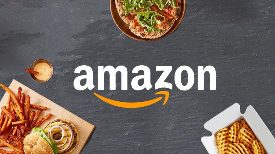 Amazon Restaurants branding