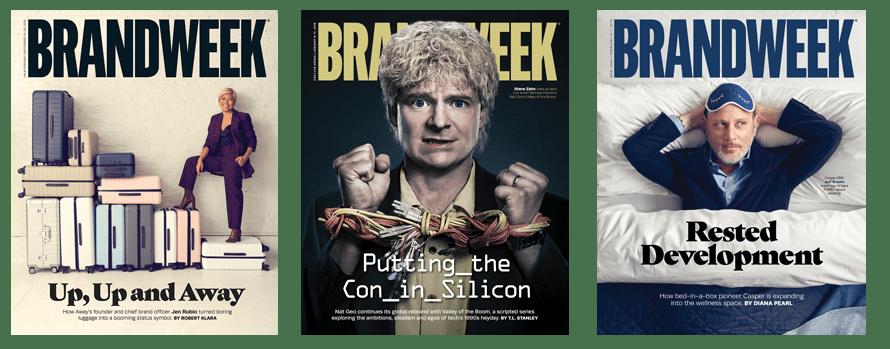 Il faut plus de créativité que jamais pour qu'une marque réussisse – Newstrotteur brandweek covers ednote 890