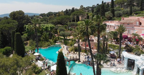 How Business Gets Done Poolside in a Villa in Cannes
