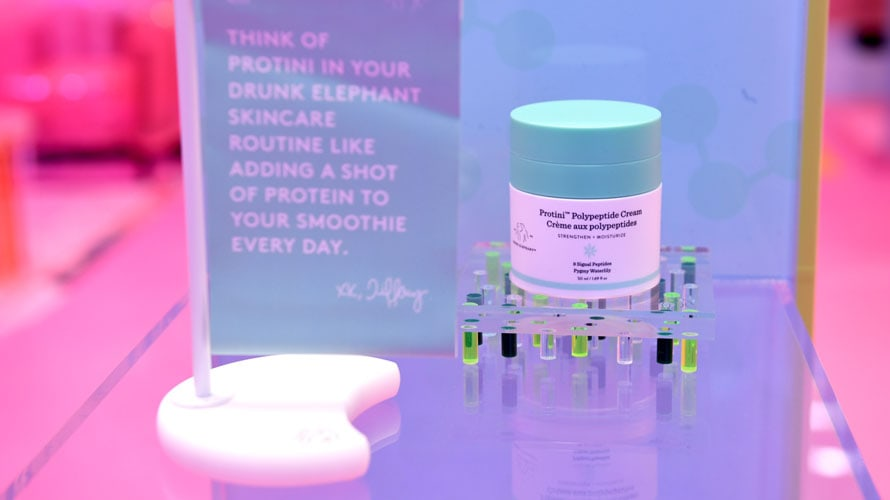 Protini Polypeptide Cream from Drunk Elephant's House of Drunk pop-up