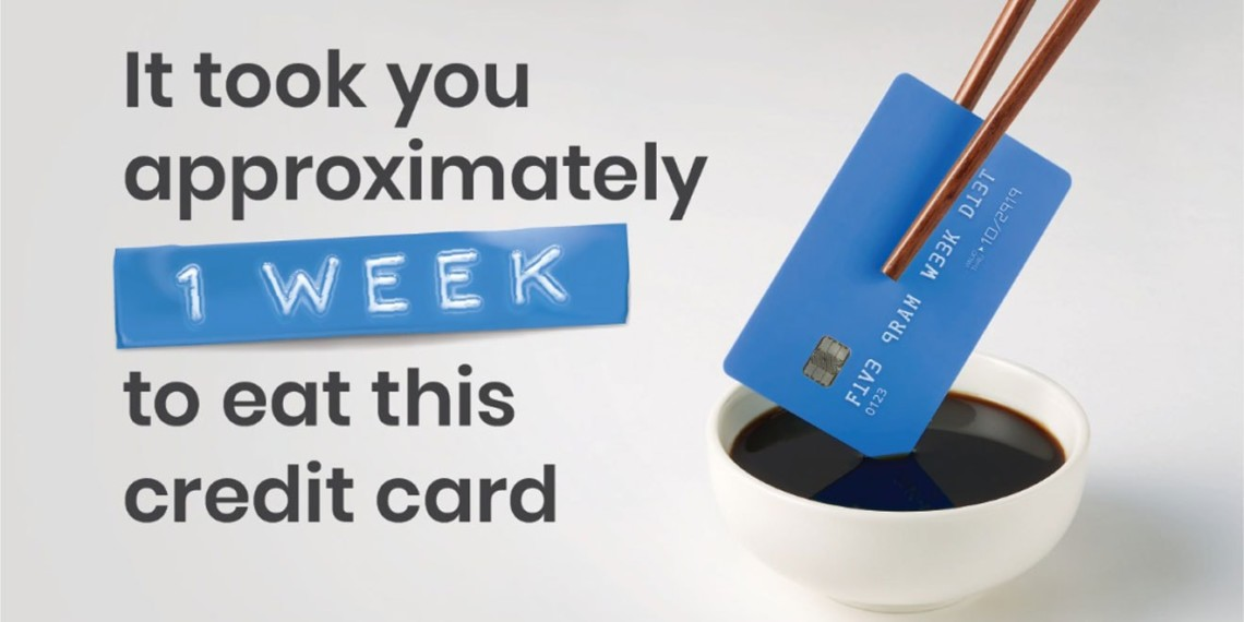 You Eat a Credit Card's Worth of Plastic Each Week, Says This Unsettling WWF Campaign