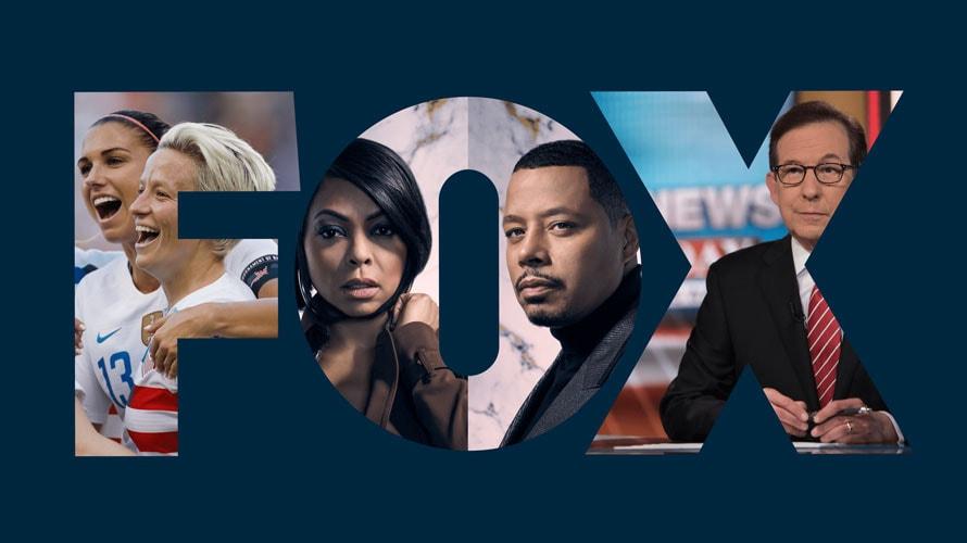 Fox logo for story on Project OAR featuring Fox programs