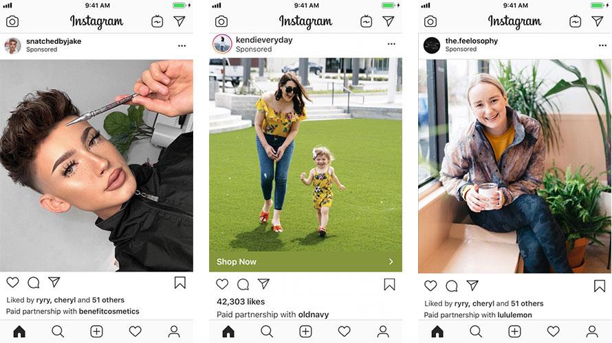 Image result for instagram branded content ads to promote influencer posts