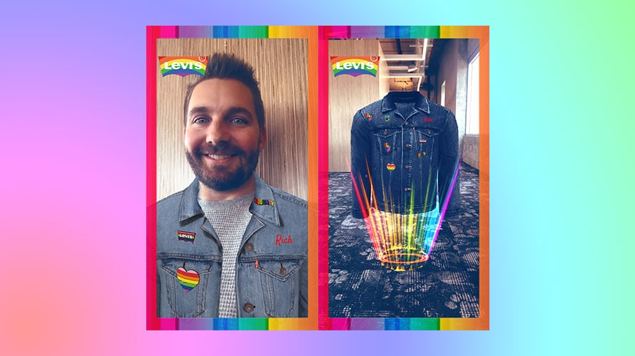 Levi's and Snapchat Join Forces for Pride Month With Limited