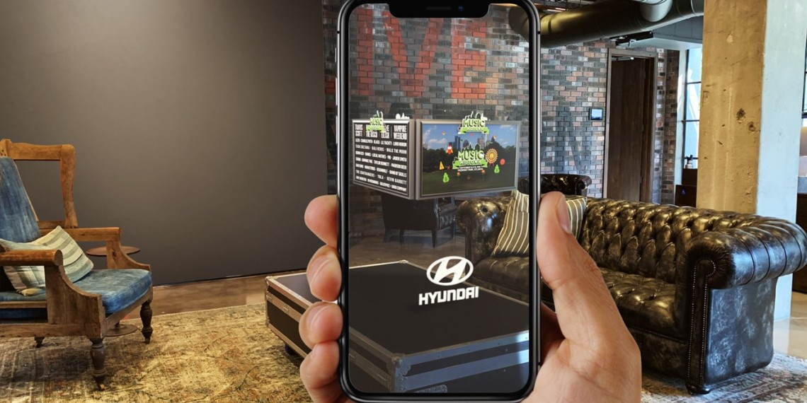 Live Nation Is Creating a Suite of Augmented Reality Tools for Brands at Music Festivals