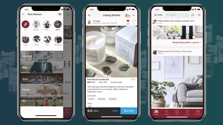 Poshmark Expands Beyond Fashion and Enters the Home Goods
