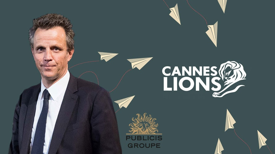 Cannes Publicis Groupe publicity photo