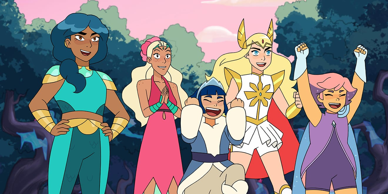 Still from She-Ra and the Princesses of Power