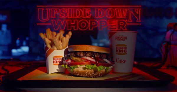 Burger King Is Creating an Upside Down Whopper for Stranger Things Season 3
