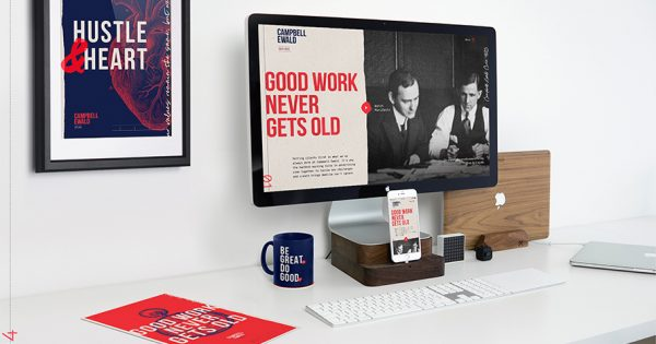 Campbell Ewald's Rebranding Takes Inspiration From Its History – Adweek