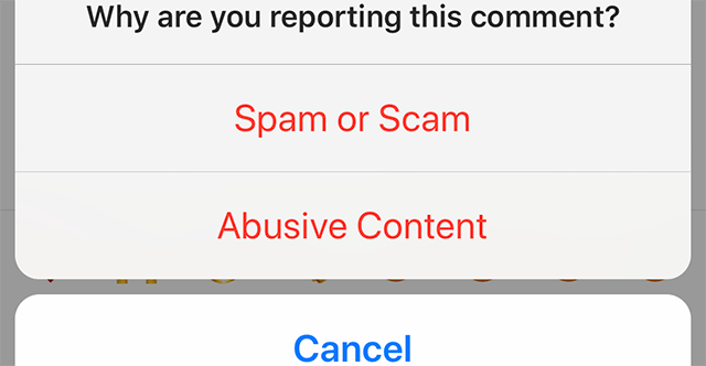 Instagram: Here's How to Report a Comment – Adweek