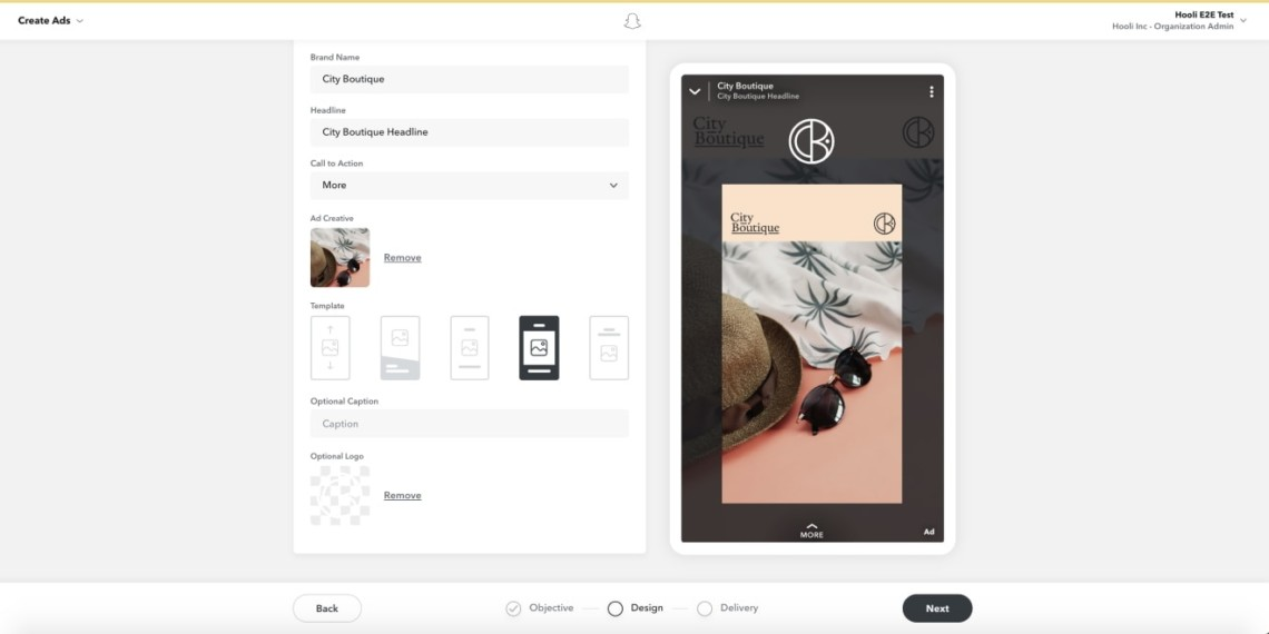 Snapchat Just Added a Self-Service Video Ad Creation Tool – Adweek