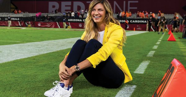 erin andrews on her rapid rise and staying at the top of