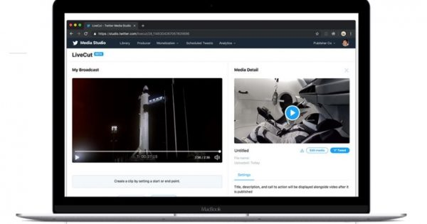 Twitter Added the LiveCut Video-Publishing Tool to Media Studio