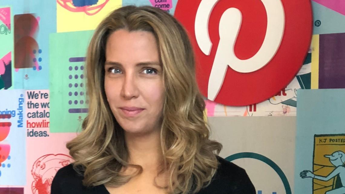 Andréa Mallard, CMO of Pinterest