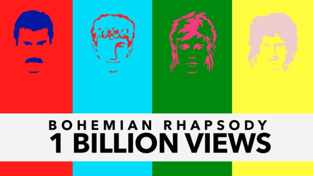 Queen's 'Bohemian Rhapsody' Video Topped 1 Billion Views on