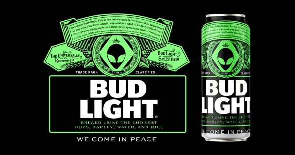 Bud Light's 'Area 51' Can Design Began as a Joke, but Now Might Become Real