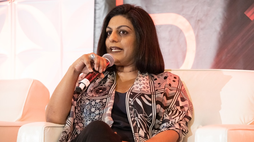 Chetna Bindra speaks at the Adweek NexTech Conference.