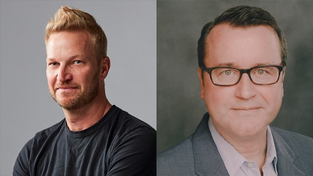 Side-by-side headshots of Christian Juhl and Kelly Clark