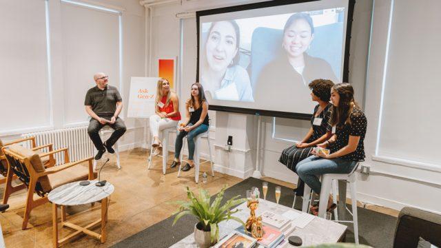 gen z panel social media day one agency