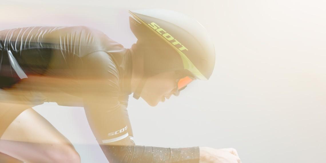 scott split helmet scott sports huge toronto bicycle rider