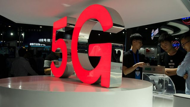 Sculpture of '5G'
