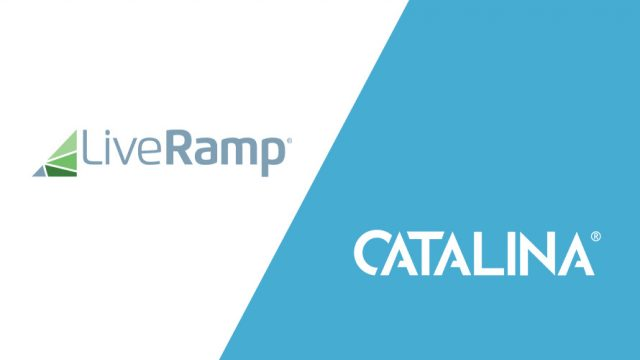 LiveRamp and Catalina logos