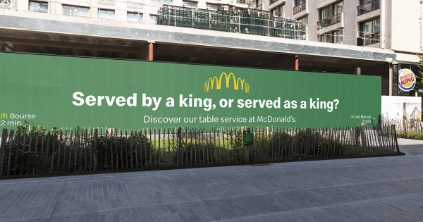 McDonald's and Burger King Are in a Trolling Battle on the Streets of Belgium