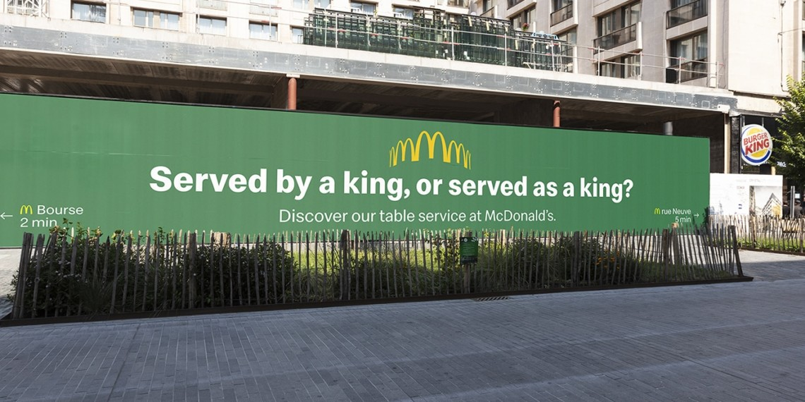 McDonald's and Burger King Are in a Trolling Battle on the