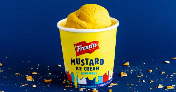 No One Asked for This, But French's Just Made Mustard Ice Cream