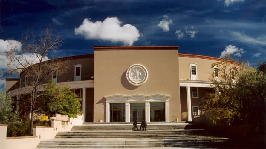 the new mexico state legislature building