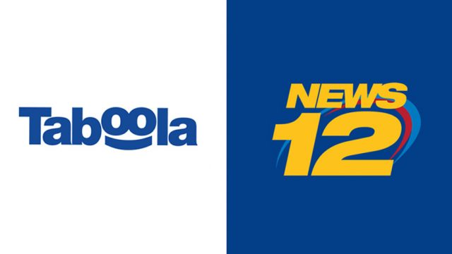 Taboola and News 12 Networks logos