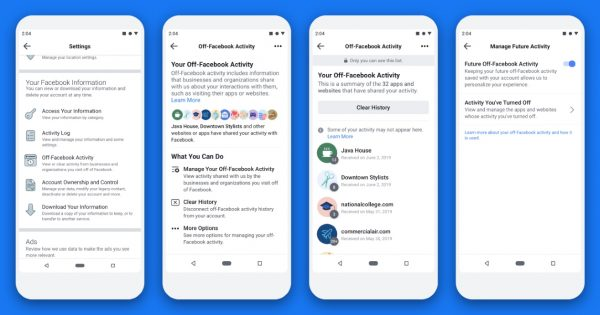 Facebook's Clear History Tool, Now Called Off-Facebook Activity, Is Finally Rolling Out