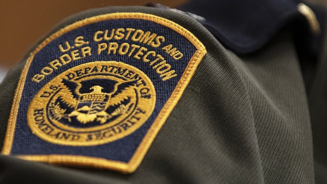 us customs and border protection agent patch