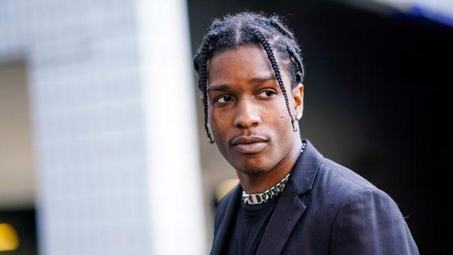 Portrait of A$AP Rocky