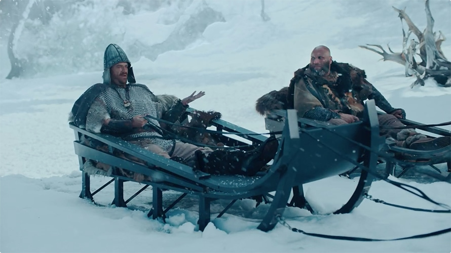 autotrader 72andsunny first ad viking sled